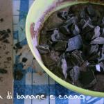 Torta banane e cioccolato