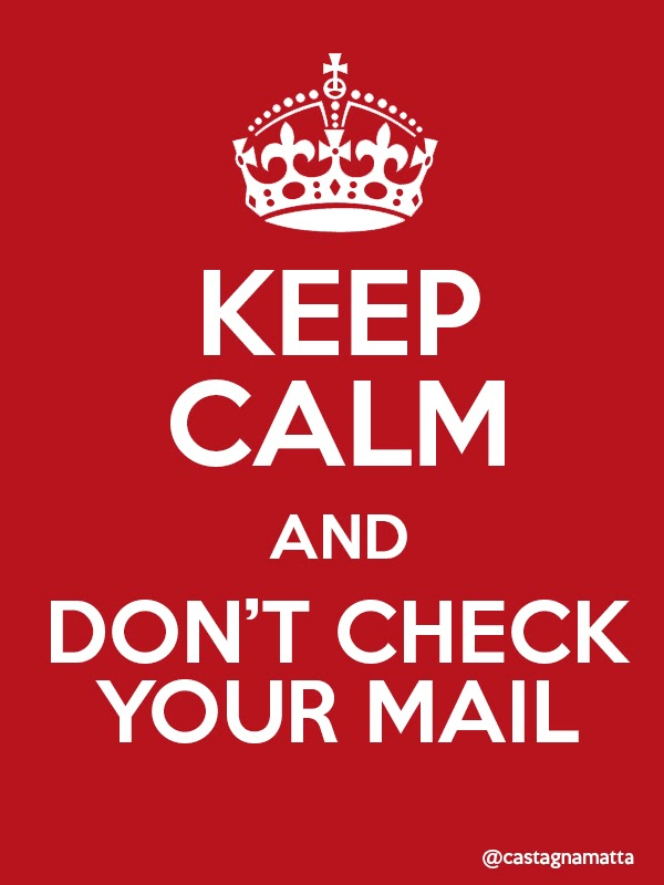 Come cancellare tutte le email di gmail! Keep calm and don't check your mail