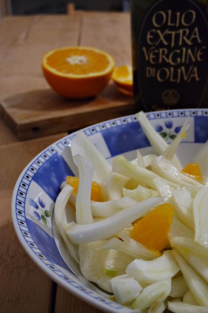 insalata di finocchi arance
